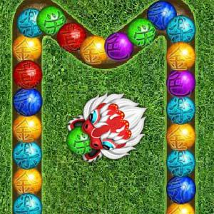 เกมส์ยิงลูกบอล dragon blast