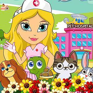 เกมส์ยิงลูกบอล Cute Pet Hospital