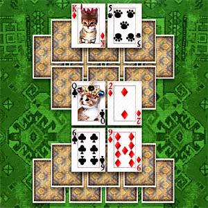 เกมส์เปิดไพ่kitten solitaire
