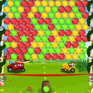 เกมส์ยิงลูกบอลhans vs franz bubble