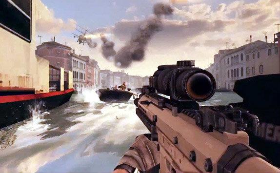 [E3-2013] Modern Combat 5 เกมส์ยิงบนมือถือที่ใกล้เคียงคอนโซล