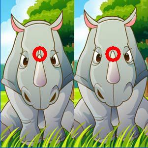 เกมส์เรียงเพชร animal life spot difference2