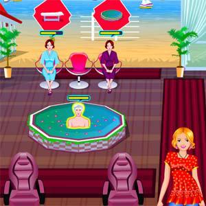 เกมส์เปิดบริษัท Sandy Spa
