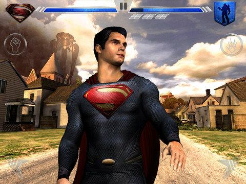 เกมส์ Man of Steel บุรุษเหล็กซุเปอร์แมนมาแล้ว สำหรับชาว iOS
