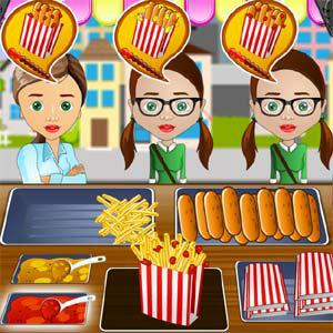 เกมส์จับคู่ time for chat foods