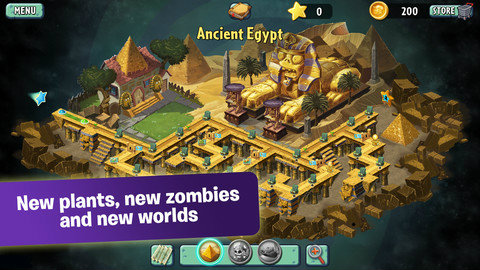 เกมส์ Plants vs. Zombies 2