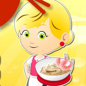 เกมส์ทำเค้ก frenzy noodles