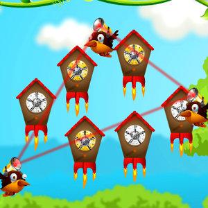 เกมส์ต่อสู้ smart birds