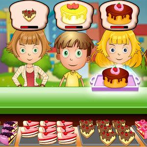 เกมส์ทำเค้ก yummy cake shop