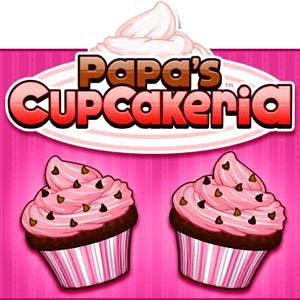 เกมส์ทำอาหาร papa's cupcakeria