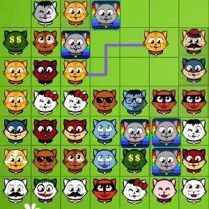 เกมส์รถแข่ง เกมส์จับคู่แมวเหมียว