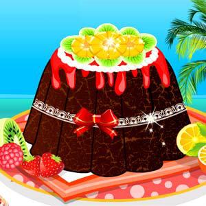 เกมส์ทำอาหาร เกมส์ทำเค้กช็อคโกแล็ต