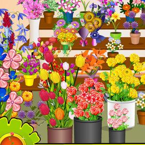 เกมส์หาของในร้านดอกไม้