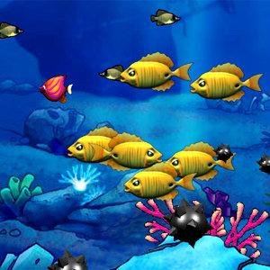 เกมส์เลี้ยงปลาเกมส์ปลาใหญ่กินปลาเล็ก