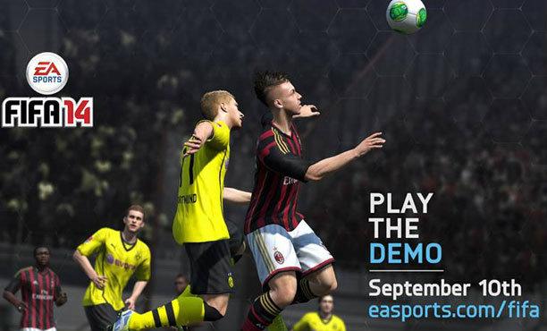 FIFA 14 Demo ดาวน์โหลดได้แล้ววันนี้