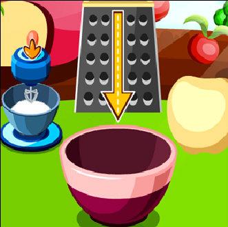 เกมส์ทำอาหาร เกมส์ทำเค้กแอปเปิ้ล