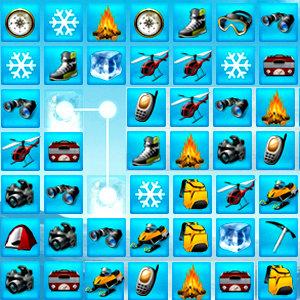 เกมส์จับคู่ เกมส์จับคู่ตะลุยหิมะ