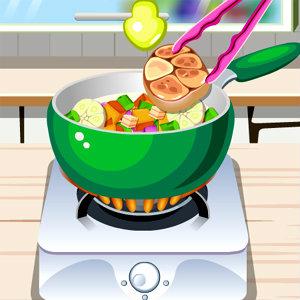 เกมส์ทำอาหาร เกมส์ทำสตูเนื้อสไตล์อิตาเลี่ยน