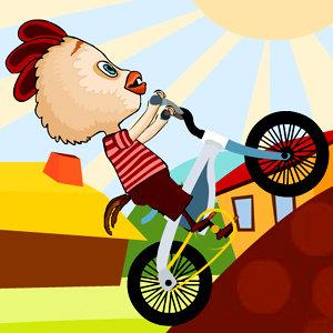 เกมส์รถแข่งเกมส์ไก่ปั่นจักรยาน
