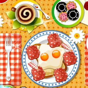 เกมส์ทำอาหาร เกมส์แต่งจานอาหารเช้า