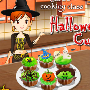 เกมส์เสิร์ฟอาหาร เกมส์ทำเค้กฮาโลวีน