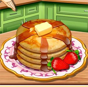 เกมส์ทำอาหาร เกมส์เรียนทำแพนเค้กกับซาร่า
