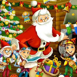 เกมส์หาของ เกมส์หาตัวเลขวันคริสมาสต์