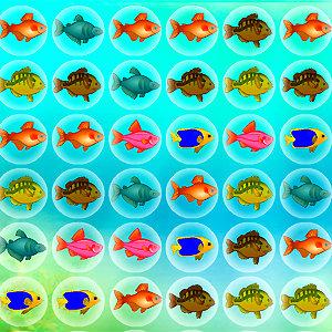 เกมส์เรียงปลาแสนสวย