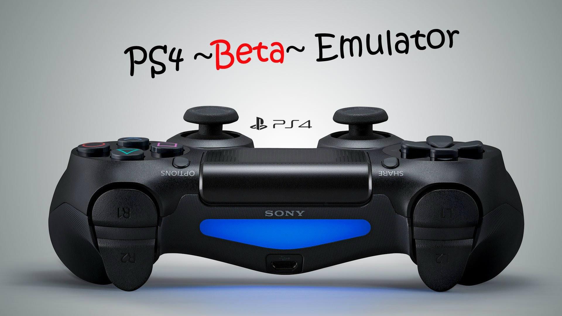 Emulator PS4