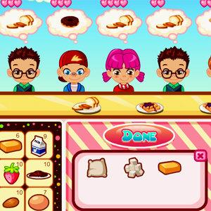 เกมส์ทำอาหาร เกมส์ร้านขายขนม