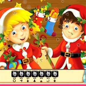 เกมส์ผี เกมส์ช่วยลุงซานต้าหาของ