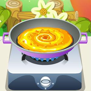 เกมส์ทำเค้ก เกมส์ทำพายฟักทอง