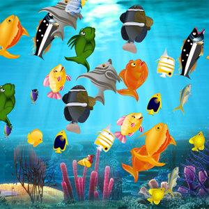 """เà¸à¸¡à¸ªà¹Œà¸ˆà¸±à¸šà¸""""ู่เกมส์จับคู่ปลา"""