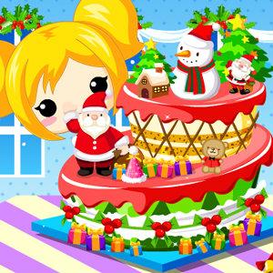 เกมส์เสิร์ฟอาหาร เกมส์ทำเค้กวันคริสมาสต์