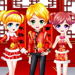 เกมส์แต่งตัววันตรุษจีน