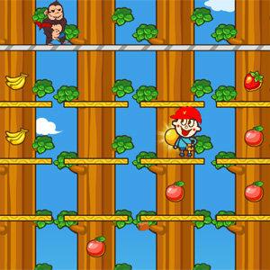 เกมส์ผจญภัย เกมส์ขโมยผลไม้เจ้าจ๋อ
