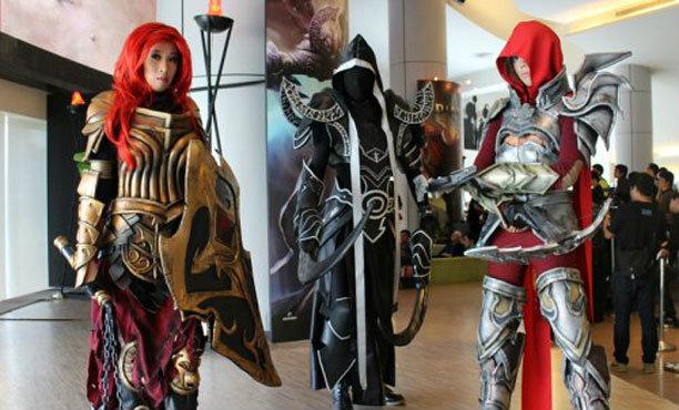 เปิดตัว Diablo III Reaper of Souls แฟนพันธุ์แท้ร่วมงานคับคั่ง