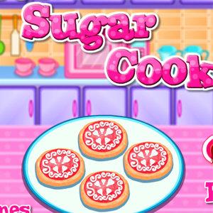 เกมส์ทำอาหาร เกมส์ทำคุกกี้น้ำตาล