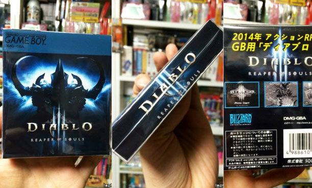 Diablo III เวอร์ชั่น Game Boy ไม่ต้องต่อออนไลน์เล่น