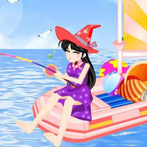 เกมส์สาวน้อยตกปลา