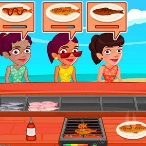 เกมส์เสิร์ฟอาหาร เกมส์ทำอาหาร ริมทะเล