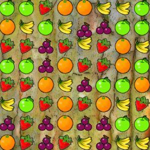 เกมส์เรียงเพชร เกมส์เรียงผลไม้