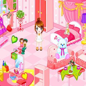 เกมส์แต่งบ้าน เกมส์แต่งห้องนอน Little Bedroom Makeover