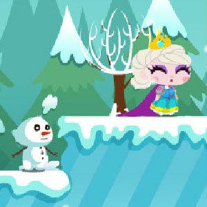 เกมส์เจ้าหญิงน้ำแข็งผจญภัย