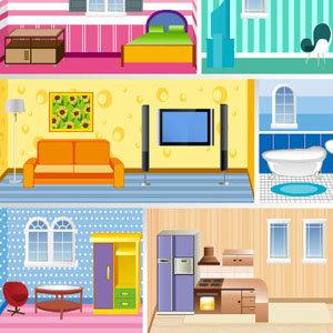 เกมส์แต่งบ้าน เกมส์ออกแบบบ้าน Doll House