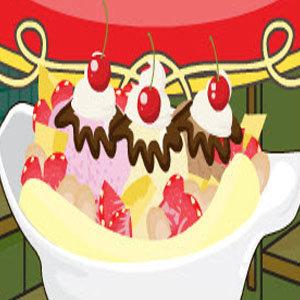 เกมส์ทำเค้ก เกมส์ทำเค้กไอศรีมกล้วยหอม