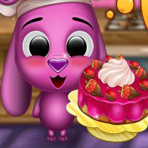 เกมส์ทำเค้ก เกมส์น้องหมาทำเค้ก