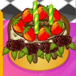 เกมส์ทำอาหาร เกมส์ทำเค้ก วันเกิดอวยพรเพื่อน