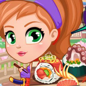 เกมส์ทั้งหมดเกมส์นินจาสาวทำชูชิ
