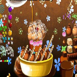 เกมส์ทำอาหาร เกมส์จัดเค้กช็อกโกแลต